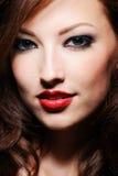 Portrait of caucasian woman Stock Photography