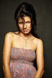 Portrait of caucasian woman Stock Photo