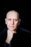 Portrait caucasien d'homme Image stock