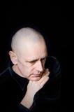 Portrait caucasien d'homme Photographie stock libre de droits