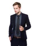 Portrait caucasien d'homme d'affaires Photo stock