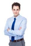 Portrait caucasien d'homme d'affaires Images stock