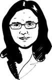 Portrait Cecilia-Malmstr?m Lizenzfreies Stockfoto