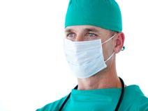 Portrait of a charismatic male surgeon Stock Photo