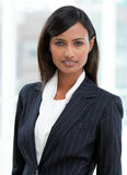Portrait of a charming businesswoman standing Royalty Free Stock Photography