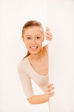 Portrait of charming girl Royalty Free Stock Image