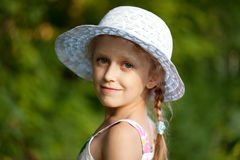 Portrait of a charming girl Royalty Free Stock Image