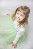 Portrait of a charming little girl Royalty Free Stock Photography