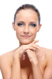 Portrait of charming woman Royalty Free Stock Image