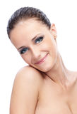 Portrait of charming woman Royalty Free Stock Photo