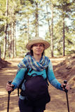 Portrait of a charming woman hiker Royalty Free Stock Photo