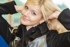 Portrait of charming woman Stock Photo