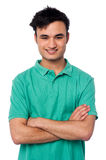 Portrait of charming young asian guy Royalty Free Stock Photos