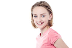 Portrait of charming young girl Royalty Free Stock Photo