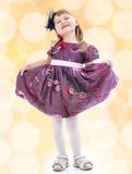 Portrait of a charming young girl Royalty Free Stock Photography