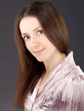 Portrait of a charming young woman Stock Image