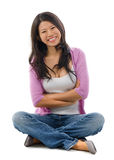 Portrait of cheerful Asian woman Royalty Free Stock Images