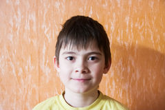 Portrait of a cheerful boy Royalty Free Stock Photo