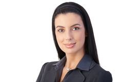 Portrait of cheerful businesswoman Royalty Free Stock Photography