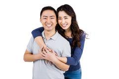 Portrait of cheerful couple Stock Photo