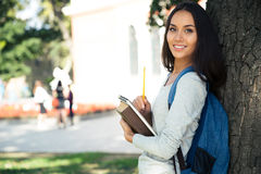 Portrait of a cheerful female teenager s Stock Photo