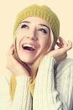 Portrait of cheerful girl. Royalty Free Stock Photo