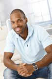 Portrait of cheerful handsome man Stock Photography