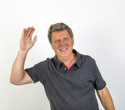 Portrait of a cheerful  man Royalty Free Stock Photo