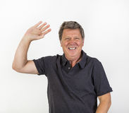 Portrait of a cheerful  man Royalty Free Stock Photos