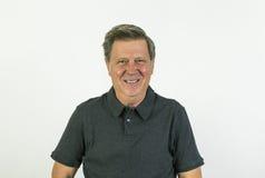 Portrait of a cheerful  man Stock Photos