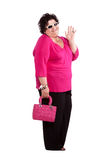Portrait of cheerful woman Stock Photography