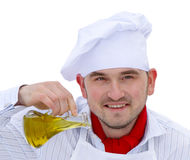 Portrait of chef Royalty Free Stock Photos