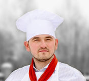 Portrait of chef Royalty Free Stock Image