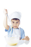 Portrait of chef boy Royalty Free Stock Photos