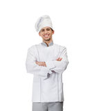 Portrait of chef cook with arms crossed Royalty Free Stock Image