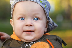 Portrait of the child Stock Images
