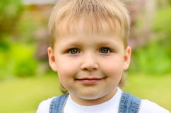 Portrait of child Royalty Free Stock Photo