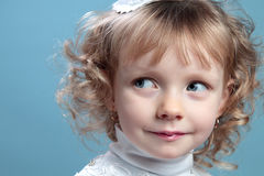 Portrait of a  child. Royalty Free Stock Image