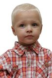Portrait of the Child. Boys, baby, surprise Royalty Free Stock Photo