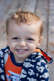 Portrait of a child. Close up portrait of smiling young boy Royalty Free Stock Photo