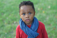 Portrait of a child of color Royalty Free Stock Photos