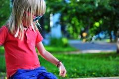 Portrait of a child Stock Photo