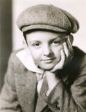 Portrait of child  in newsboy cap Royalty Free Stock Photography