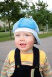 Portrait child on street Royalty Free Stock Photos