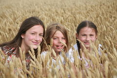 Portrait of children Royalty Free Stock Images