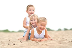 Portrait of children Stock Images