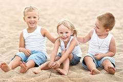 Portrait of children Stock Photos