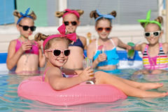 Portrait of children Royalty Free Stock Photo