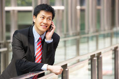 Portrait Of Chinese Businessman Outside Stock Photos