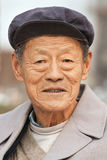 Portrait of a Chinese senior, Beijing, China Royalty Free Stock Image